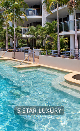 Book Direct -  Vision Cairns Luxury Holiday Apartments